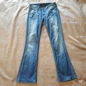 Hudson Boot Cut Flap Pockets Jeans 26